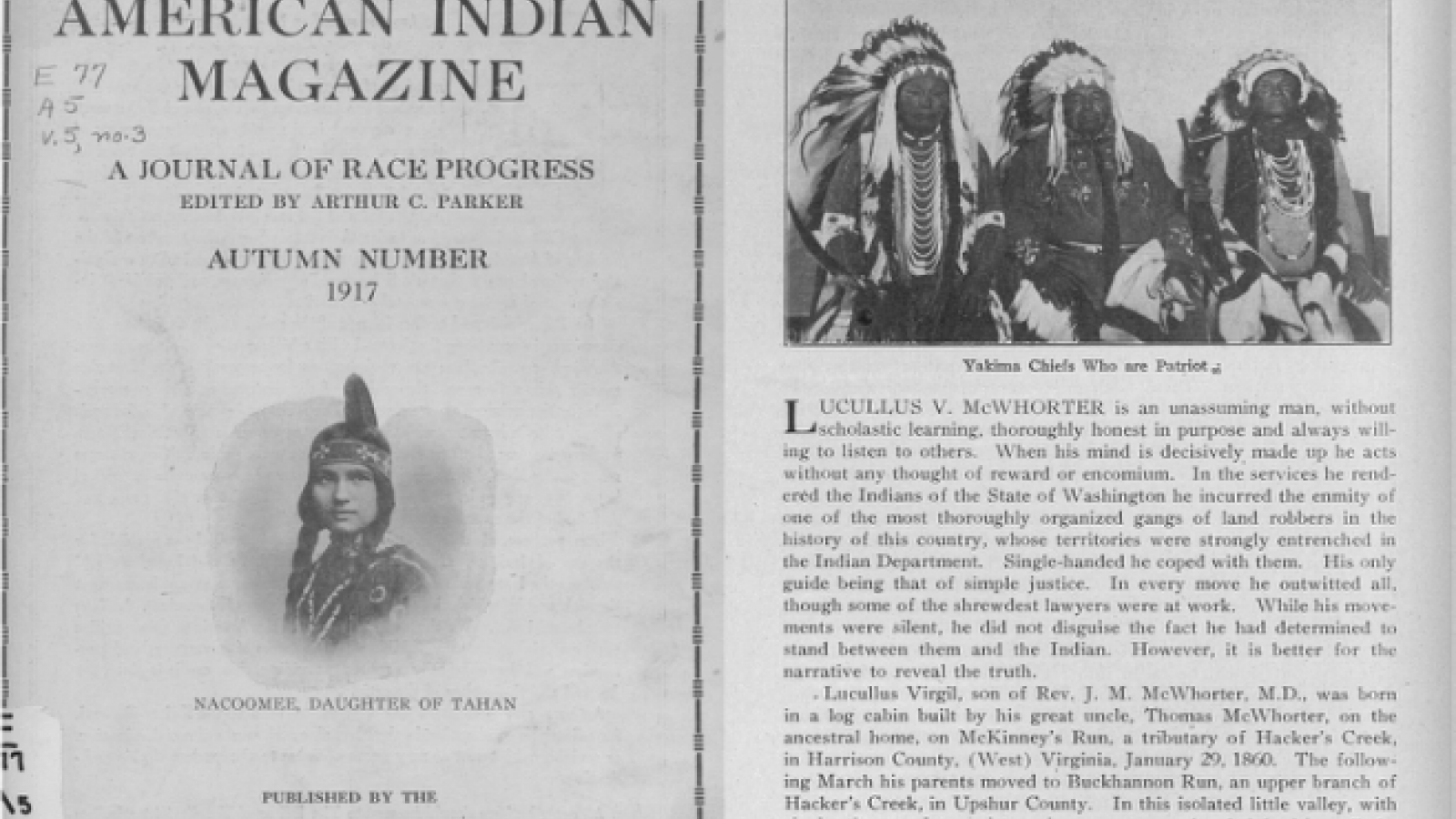 Quarterly Journal of the Society of American Indians, Image 12